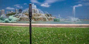 Ricoh's Theta V 4K camera sports 360-degree video and wireless playback