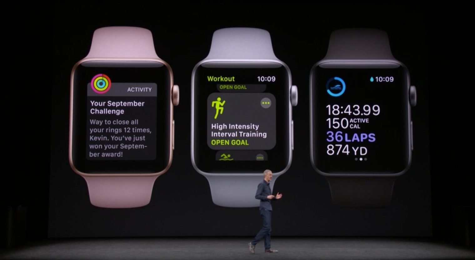Apple Watch Series 3 Features New Workout App, Cellular Compatibility On-The-Go