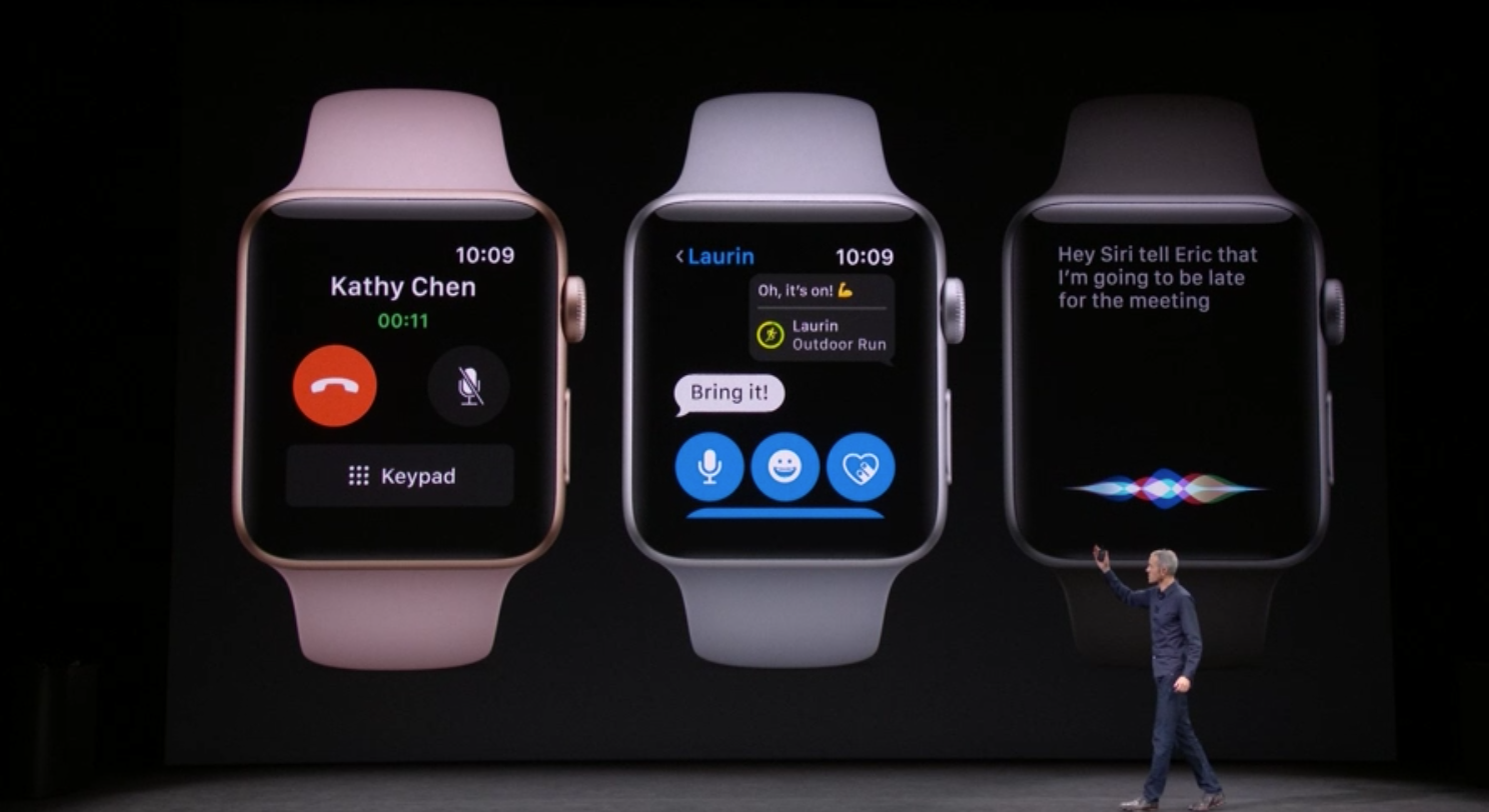 Major iOS 11 leak uncovers LTE Apple Watch