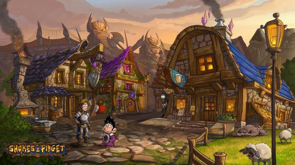 photo image Shakes and Fidget: The Adventure is a pretty and cute hand-drawn adventure game