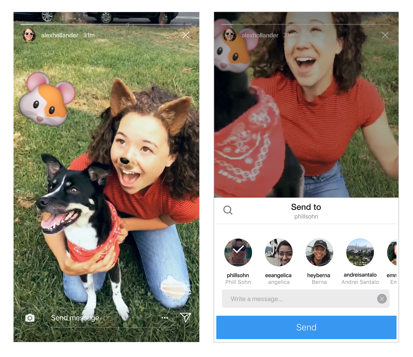 Instagram Stories Can Now Be Shared Through Direct Messages