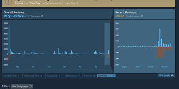 Valve's solution to Steam review-bombing makes no sense