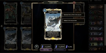 The Elder Scrolls Legends and card master Pete Hines face the dragon