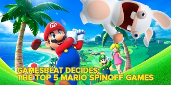 What are the top 5 Mario spinoffs? GamesBeat Decides