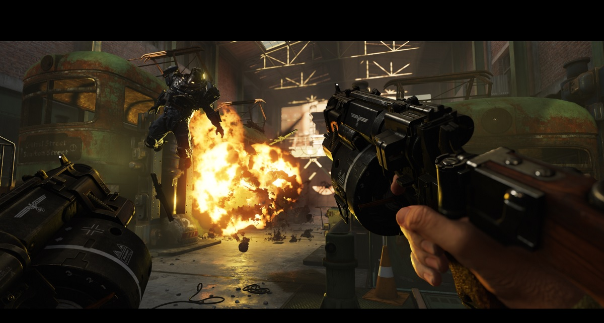 Wolfenstein Ii The New Colossus Killing The Baddest Nazis With The Biggest Guns Venturebeat
