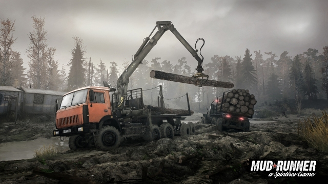 photo image Spintires: MudRunner trailer shows off the ultimate turf-wrecking truck sim
