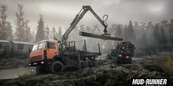 Spintires: MudRunner heads to the backwoods of America — and Switch