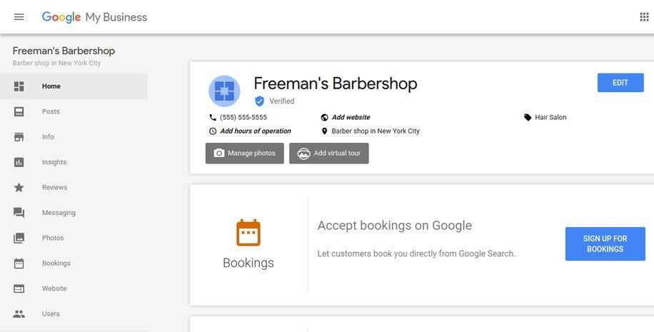 Google is making it easier for businesses to take bookings