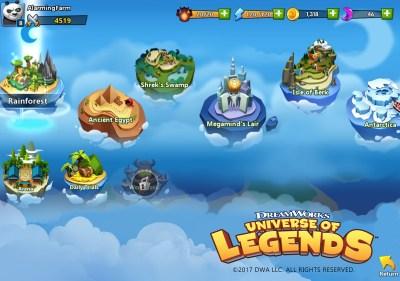 Dreamworks Universe of Legends: Where Shrek meets Kung-Fu
