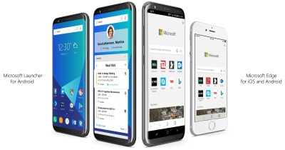 Microsoft brings Edge to Android and iOS, relaunches Arrow Launcher