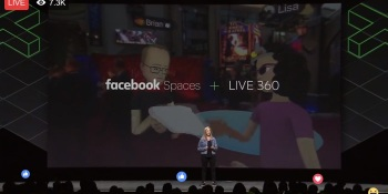 Facebook Spaces will let you livestream 360-degree video from anywhere