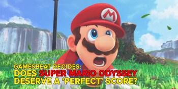 Is Super Mario Odyssey perfect? GamesBeat Decides
