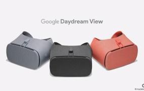 Google's Daydream View.