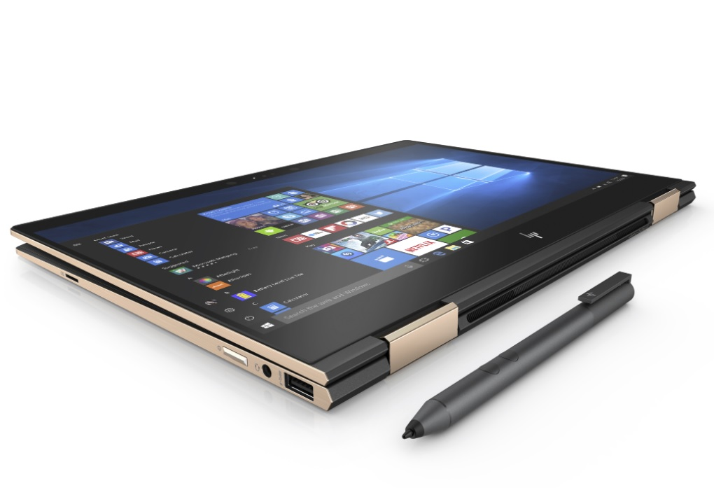 HP's new Spectre 13 is world's thinnest touchscreen laptop with vanishing bezels
