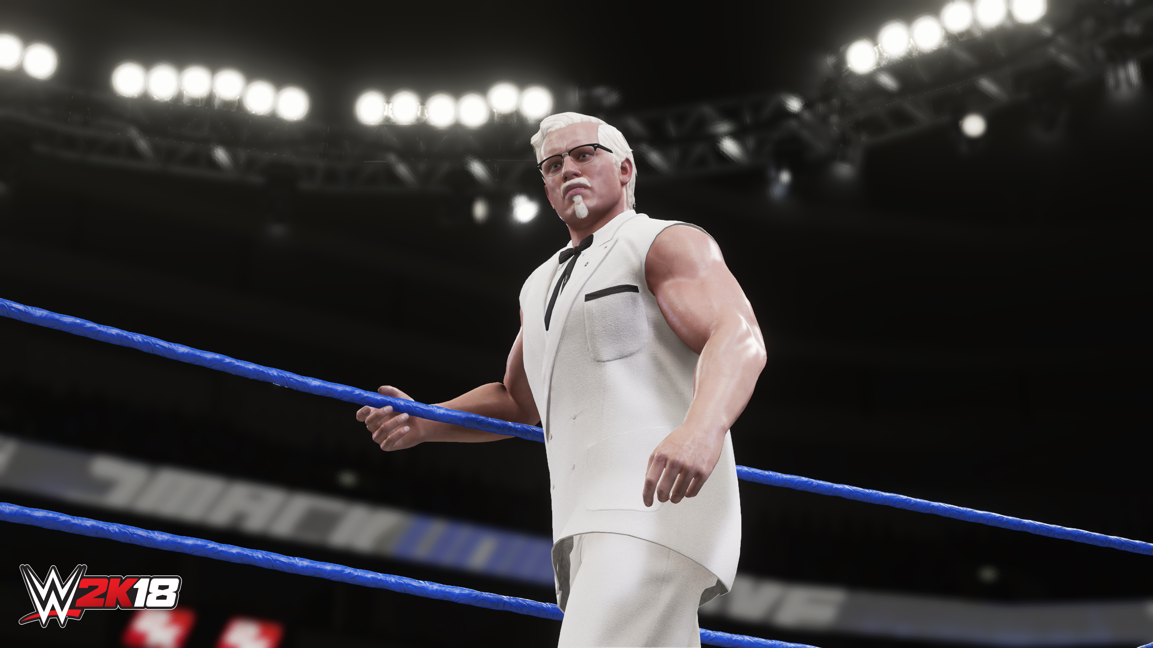 WWE 2K18 Adds KFC's Colonel Sanders to the Roster