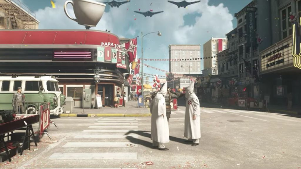 Wolfenstein 2: The New Colossus showed a Nazified America.