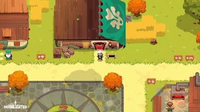 Moonlighter is opening up shop and slaying monsters on