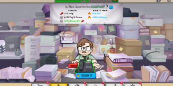 Office Space: Idle Profits mobile game opens a PC branch