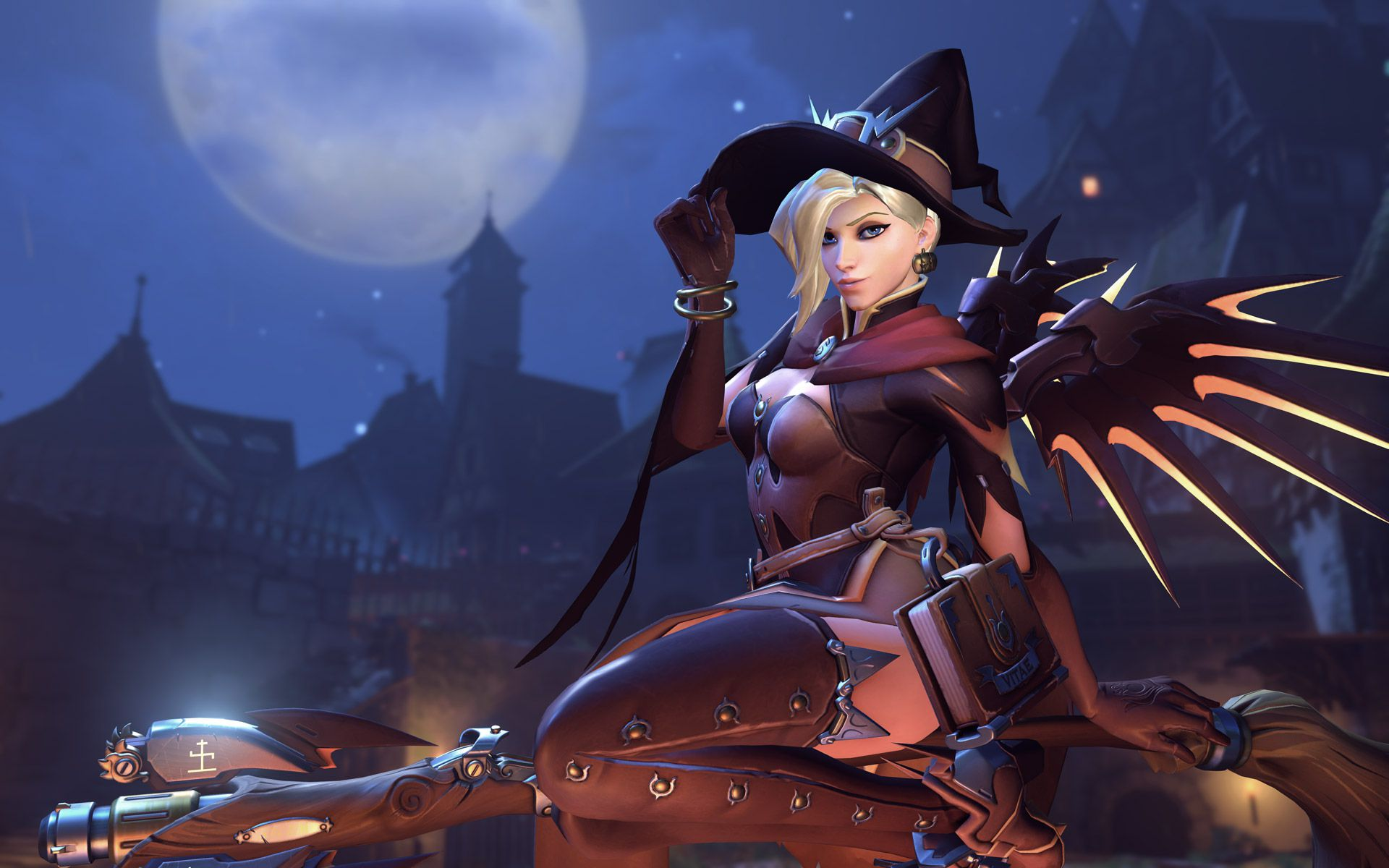 Mercy nerfed, Ana buffed in the latest Overwatch PTR
