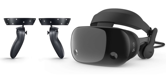 Samsung's HMD Odyssey is just one of numerous headsets compatible with Microsoft's Windows Mixed Reality program.
