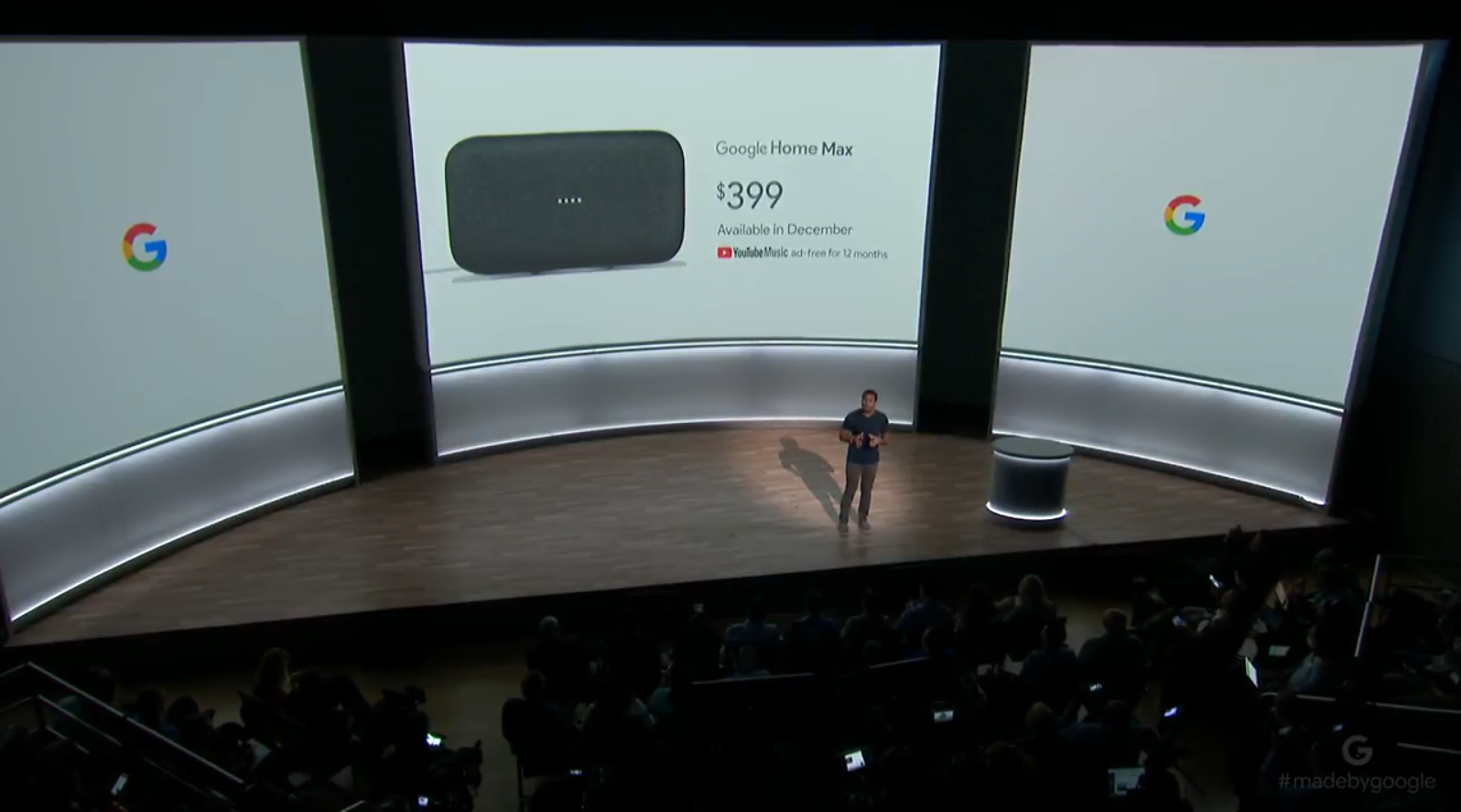 Home Max: Google Goes After HomePod With a Big Ass Sonos Clone