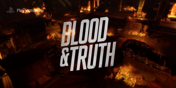 Blood & Truth is a Bond-style spy action game for PlayStation VR