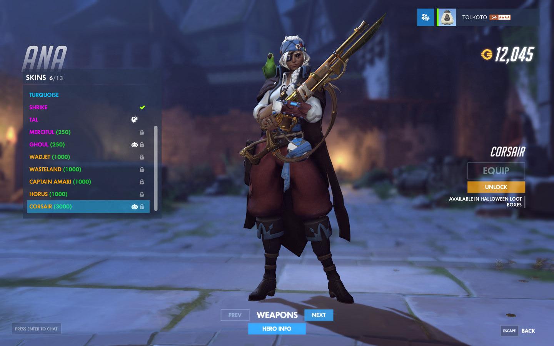 Overwatch's Ana finally got the great Legendary skin she deserved ...