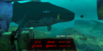 Sunken is the hidden object VR game that takes you under the sea