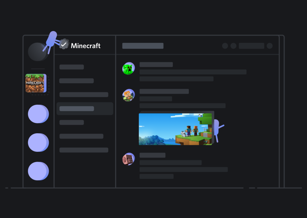 Discord launches verified servers for Minecraft Squad and more