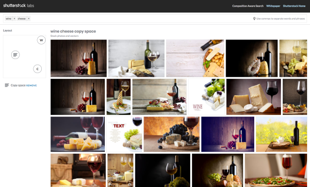 photo image Shutterstock's spatially aware visual search tool lets you find photos by composition