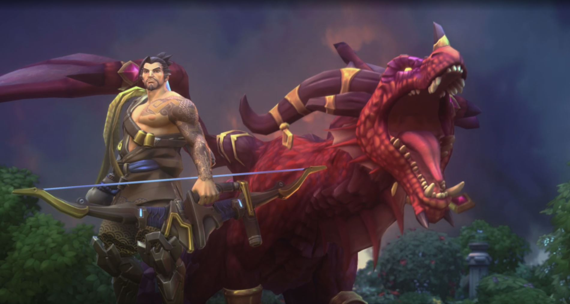 'Heroes of the Storm' Adds Hanzo from 'Overwatch'
