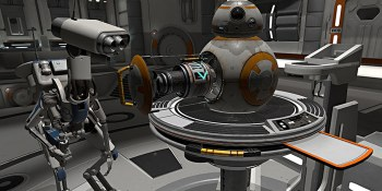 Star Wars: Droid Repair Bay turns you into a VR mechanic for BB-8