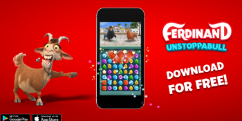 FoxNext and Koukoi Games launch Ferdinand: Unstoppabull mobile game