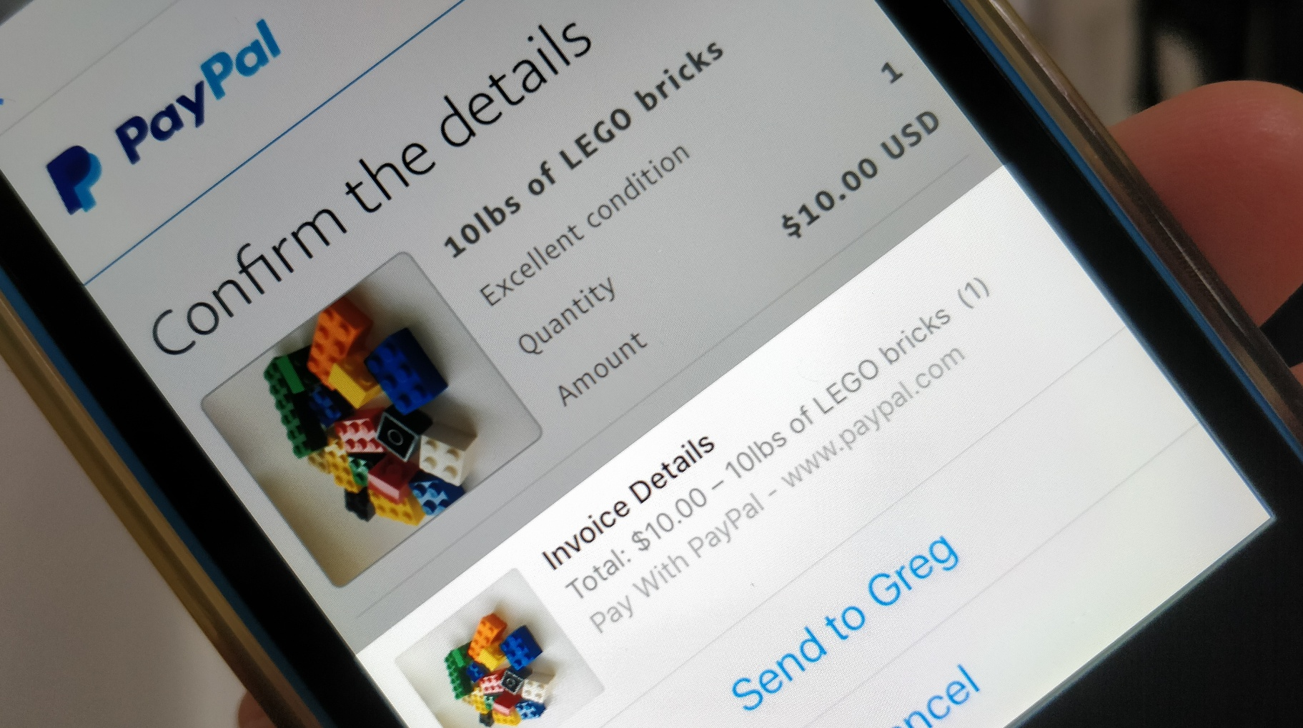Sellers can now invoice buyers through PayPal's new chat extension for Messenger