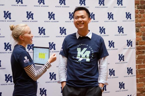 Kenzie Academy cofounder Chok Ooi