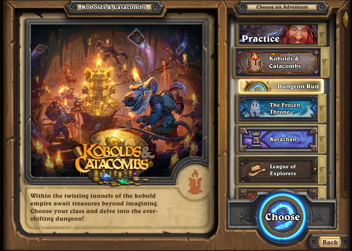 Kobolds and Catacombs Expansion Releases for Hearthstone on December  7