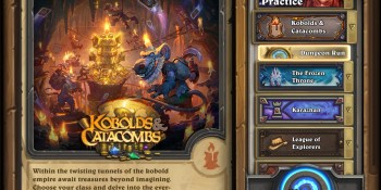 Hearthstone: Kobolds & Catacombs expansion launches December 7