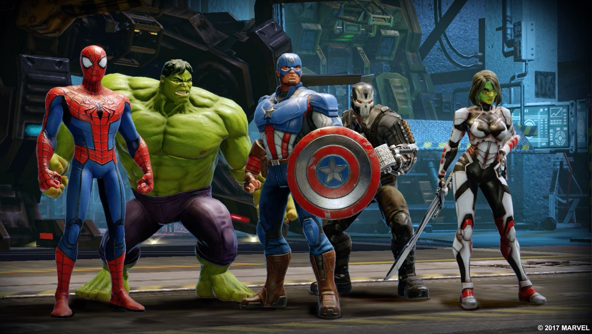 New Mobile Game Marvel Strike Force Is Revealed