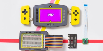 Pip is a do-it-yourself handheld for programming apps and games