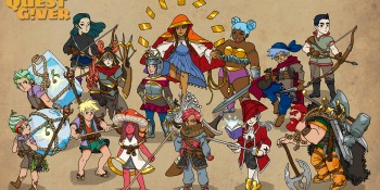 The Quest Giver puts you in an unorthodox RPG role