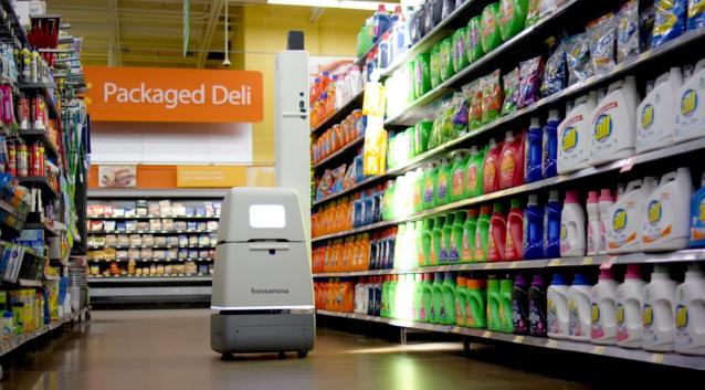 photo image Bossa Nova raises $17.5 million for retail robots that monitor inventory
