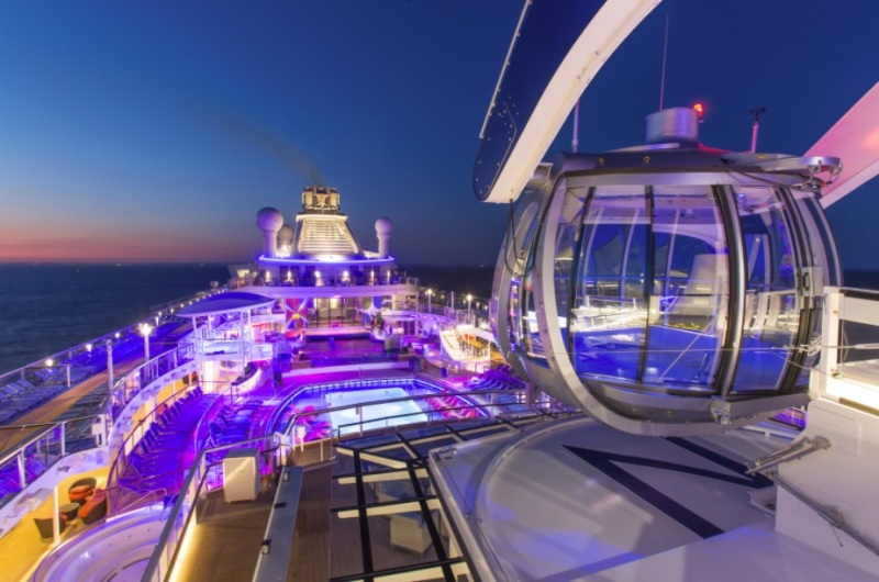 Royal Caribbean Plans To Turn Cruise Ships Into High Tech
