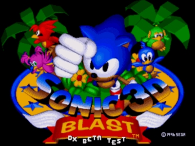 The RetroBeat: Sonic 3D Blast sprints to a new legacy with an