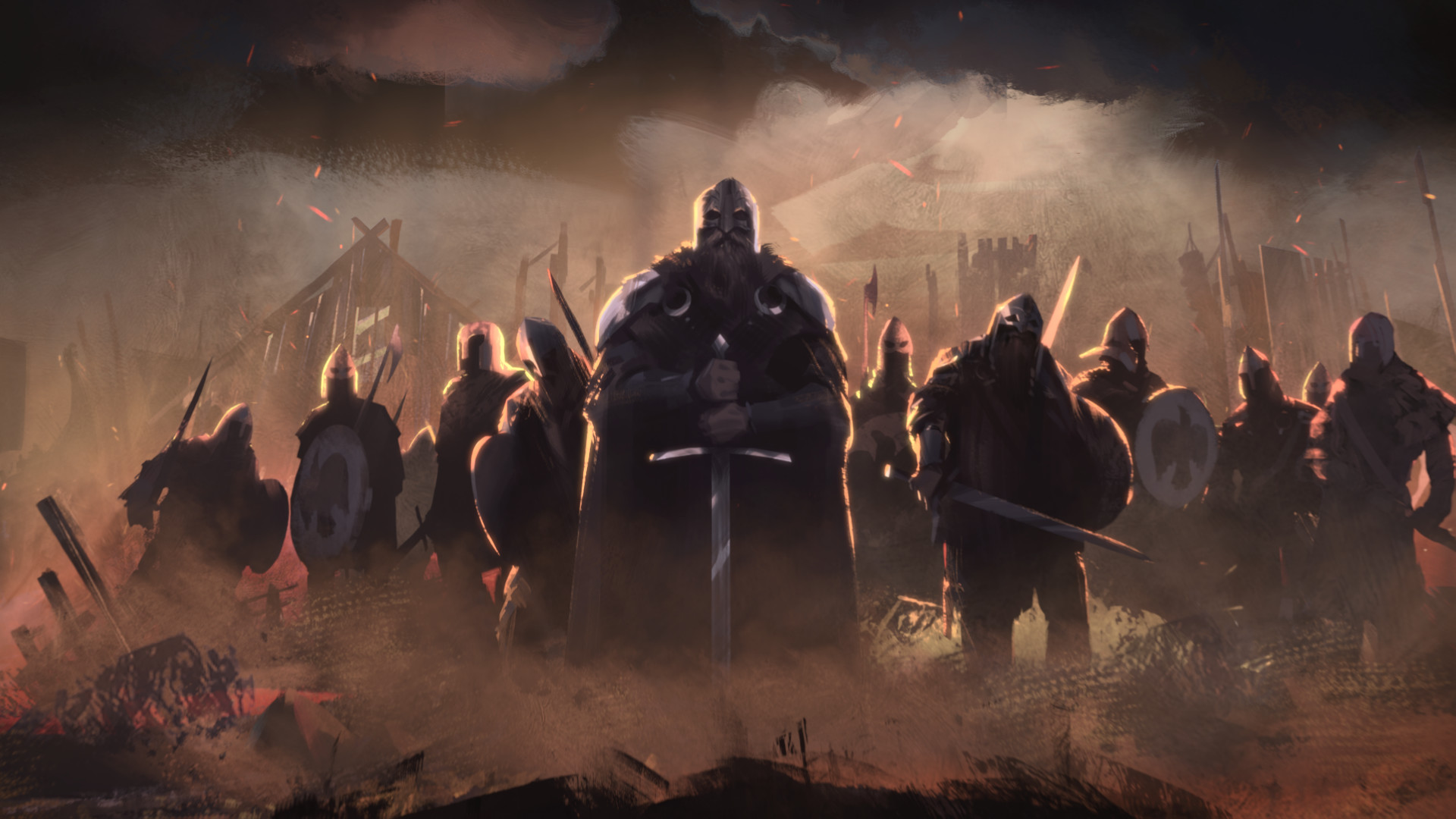 Total War Saga spin-off series' Thrones of Britannia announced