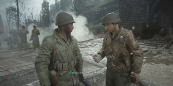 Call of Duty: WWII should have cut its clumsy racism subplot