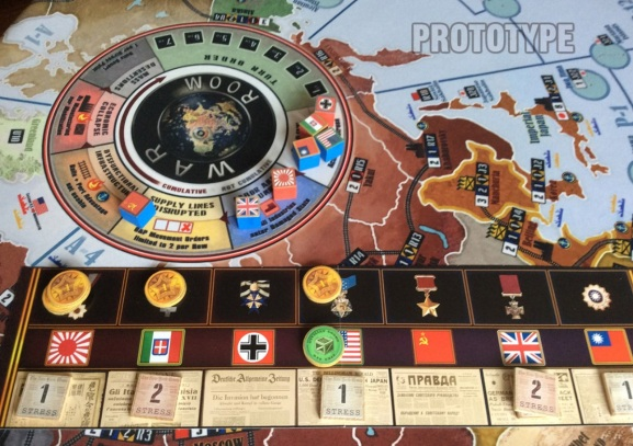 Axis & Allies creator Larry Harris is back with WWII tabletop game War Room