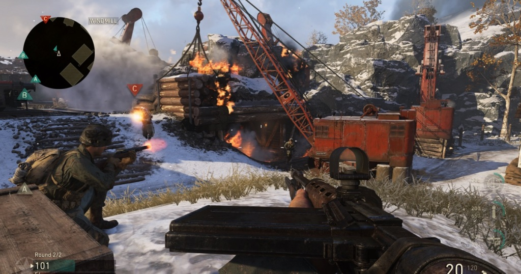 Call of Duty: WWII -- Sledgehammer Games' best tips for getting good at multiplayer ww ii 7