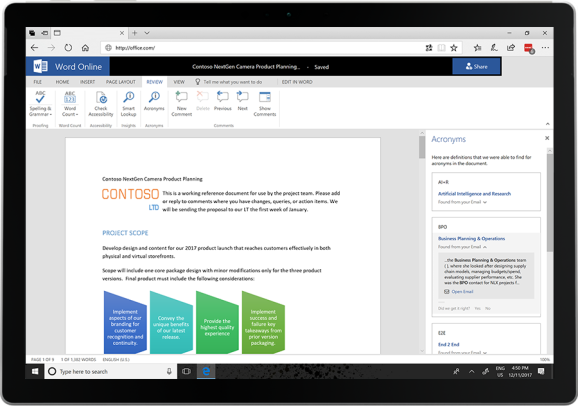 Microsoft levels up Word, Excel, and Outlook with more AI capabilities