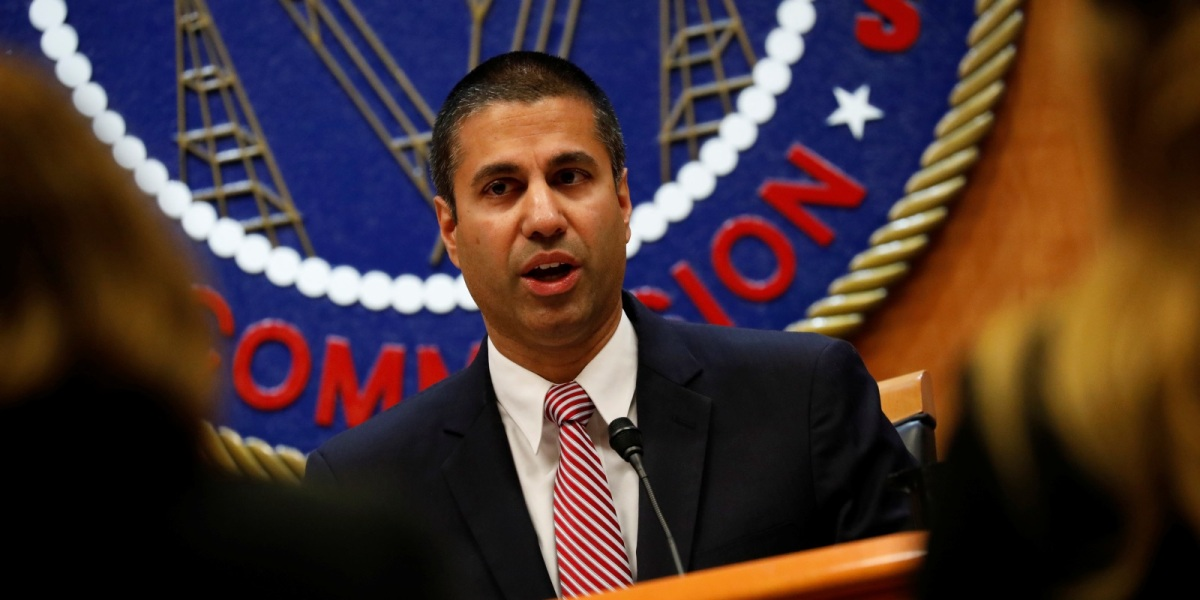 FCC Chair Ajit Pai.