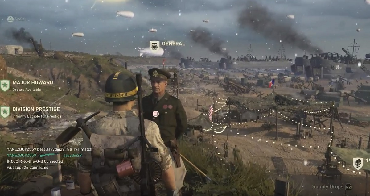 Call of Duty: WWII -- Here's the ritual of hitting Prestige
